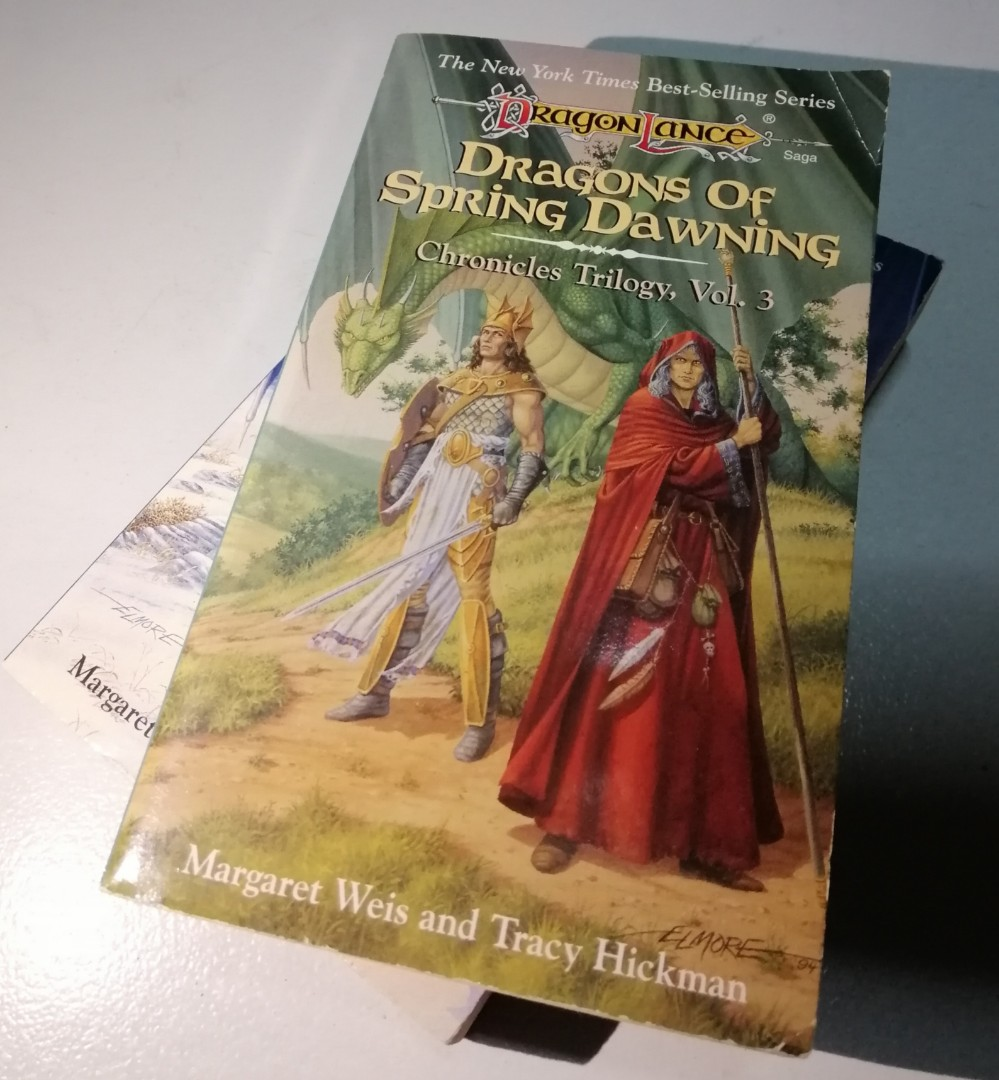 Dragon Lance Saga: Dragons of Spring Dawning Vol. 3 by Margaret Weis & Tracy Hickman