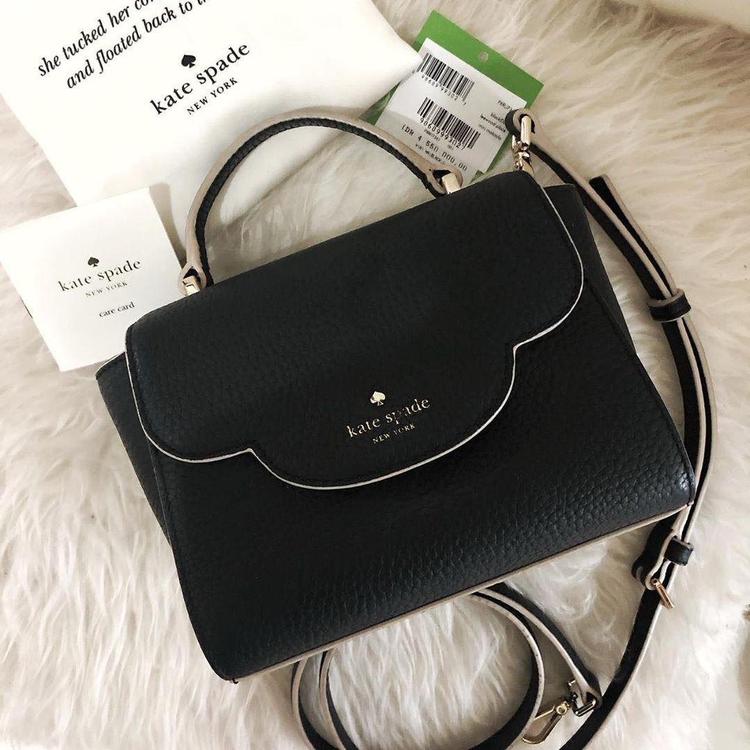 Kate Spade Bag leewoodplace mini sz 19cm complete as pict Like New beli di butik Ks Indo