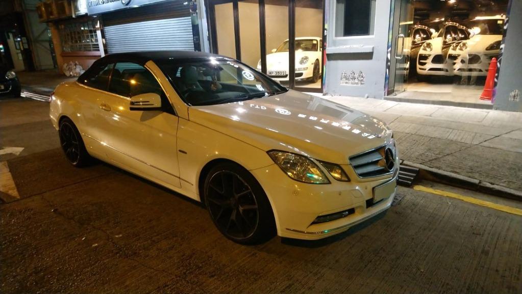 Mercedes-Benz E250 Cabriolet (A)