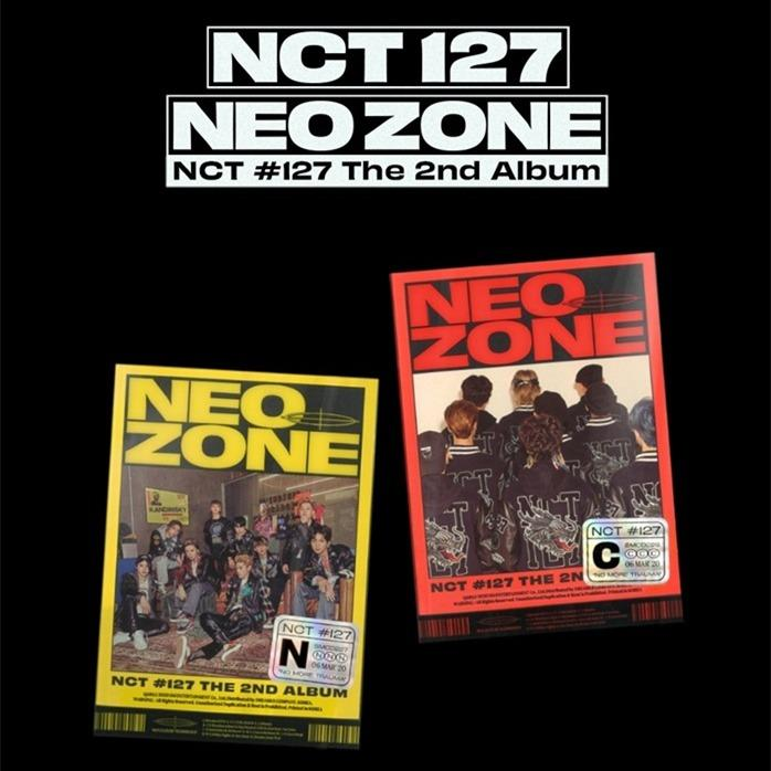 [PREORDER] NCT 127 - NCT #127 NEO ZONE / 2ND ALBUM