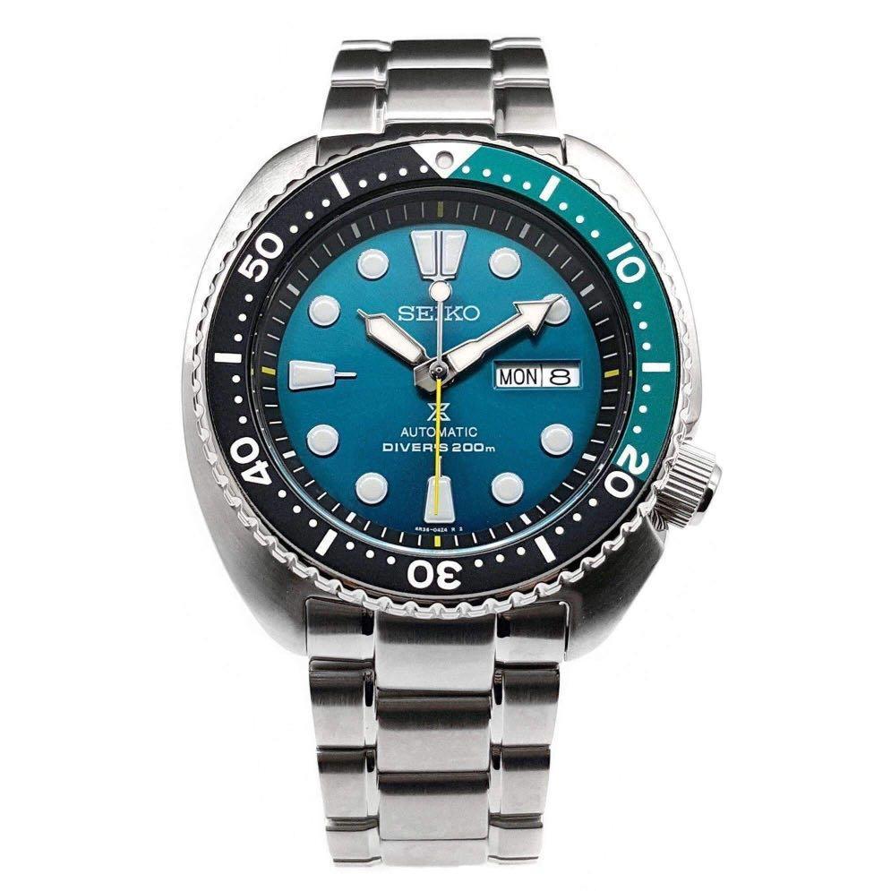 "Seiko Prospex Automatic Diver's 200M Limited Edition ""Green Turtle"" SRPB01 SRPB01K1 SRPB01K Men's Watch"