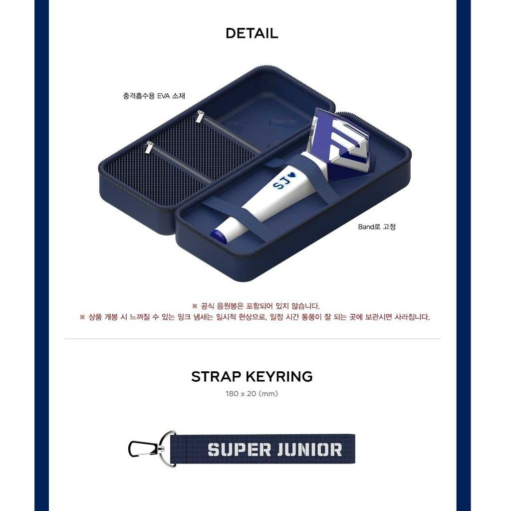 Super Junior -  light stick pouch + light stick full set