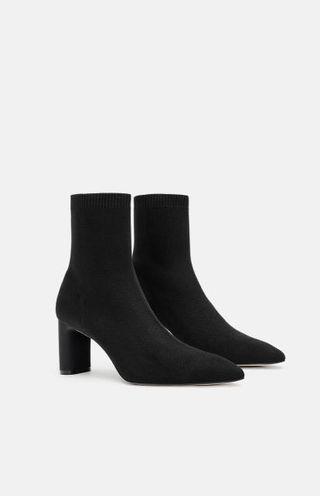 ZARA - Knit Ankle Boots