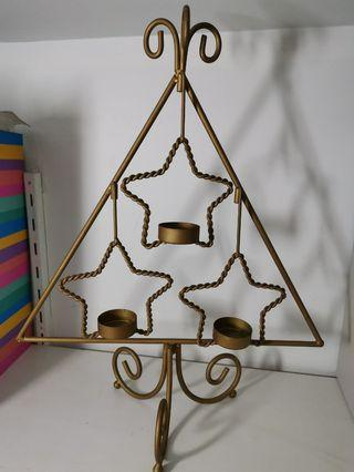 Tealight candle holder, antique from US