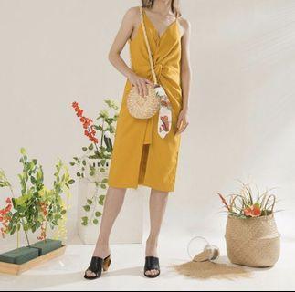 Label8 - Mustard Dress