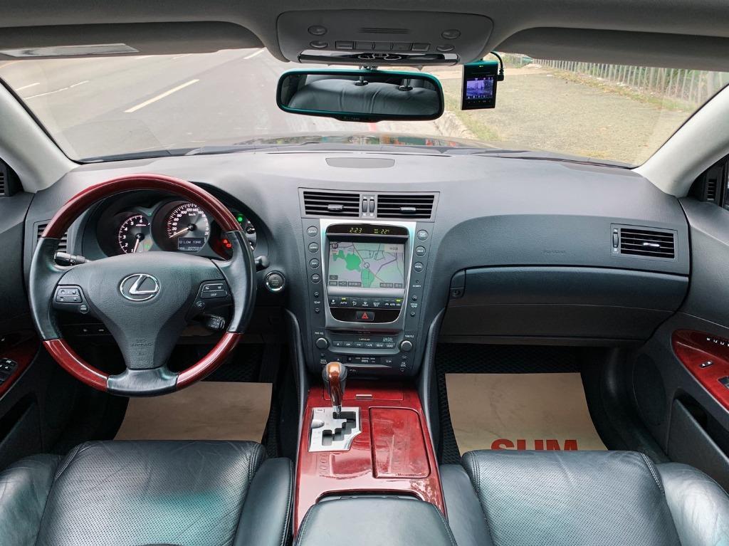 正2008年 Lexus Gs350 3.5頂級運動版 全車原版件