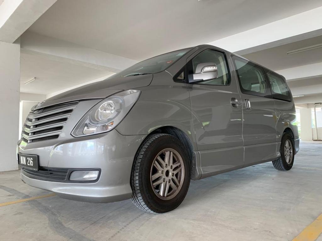 2010 Hyundai GRAND STAREX 2.5 (A) B/L LOAN KEDAI DP 3-5K