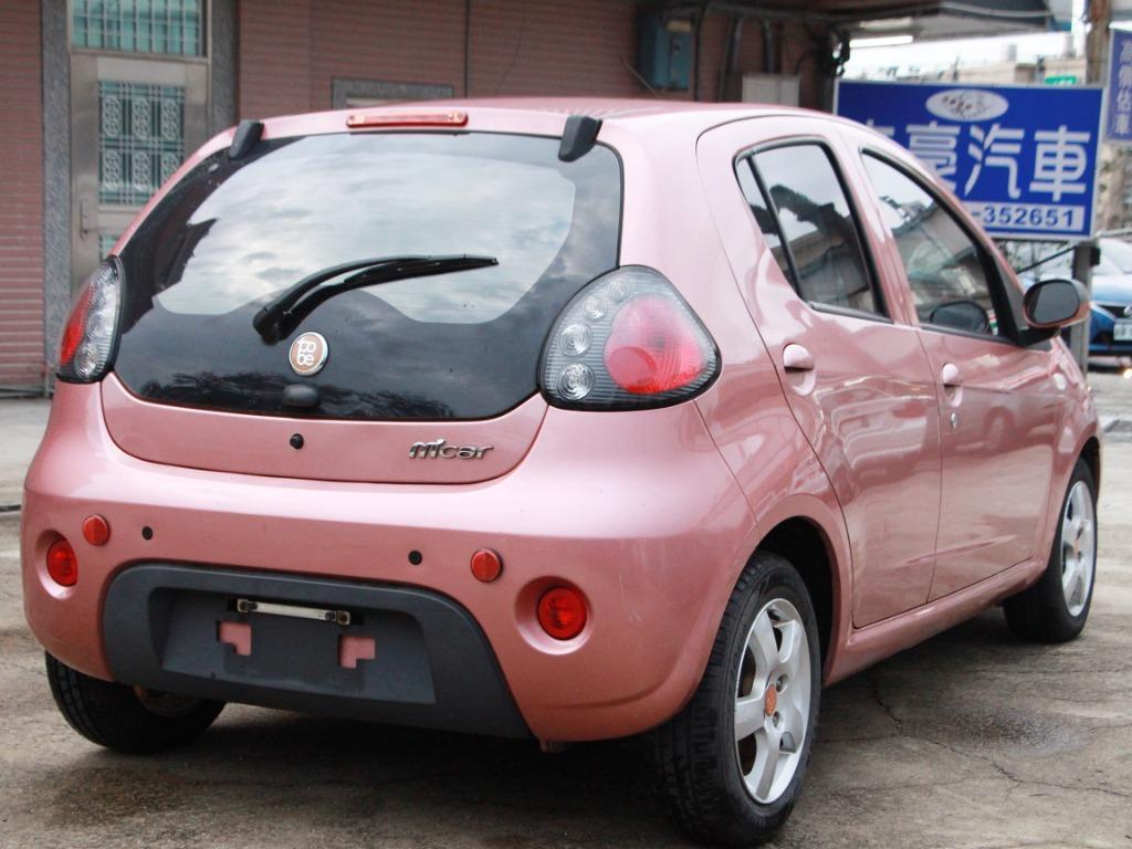 2011 Tobe M car 1.3 粉紅 配合全額貸、找 錢超額貸 FB搜尋 : 『阿文の圓夢車坊』