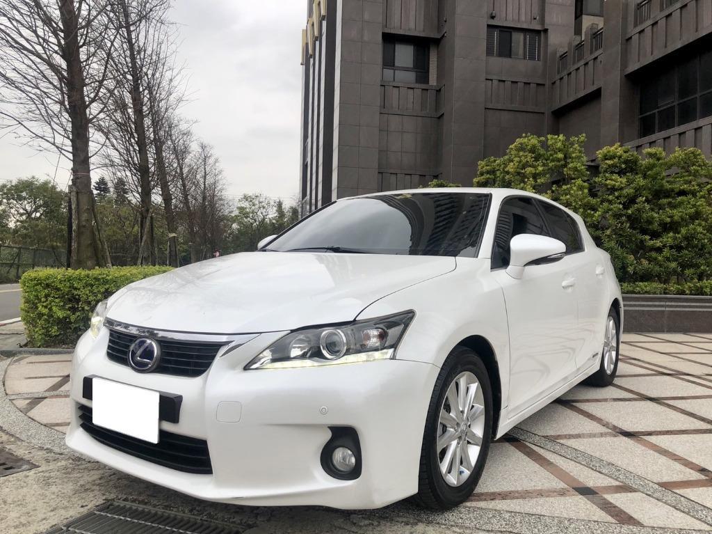2012 Lexus CT200h 1.8 油電 月繳8000 開走!