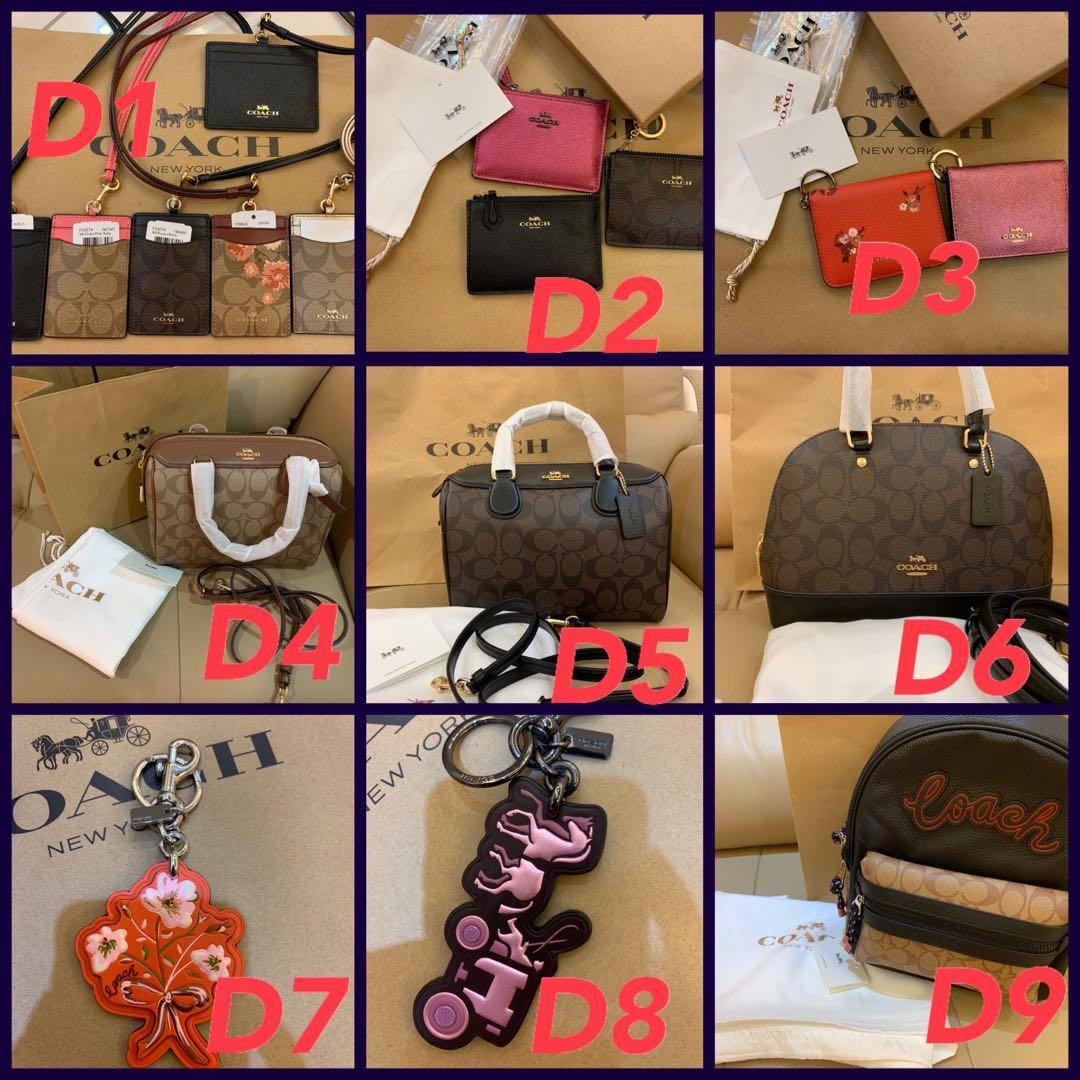 (22/02/20)Ready Stock authentic coach men walk purse clutch sling bag pouch crossbody wallet sling belt bag card holder iPhone pouch clutch ghb n