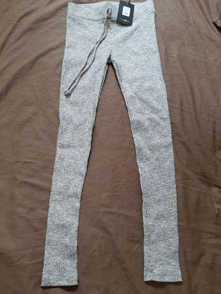 Fashion Nova Wanderlust Leggings - Grey