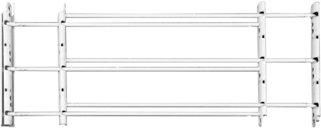 3-Bar Child's Safety Window Guard  (24''- 42'' x 14'')