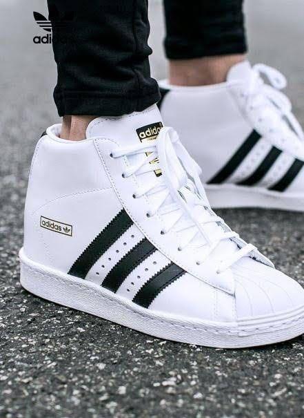 Adidas Superstar High-cut Shoes (Men