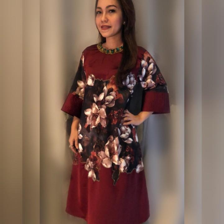 #Dirumahaja Maxi Dress Zara Mango H&m MnS Massimo Dutti #IWD2020 #Dirumahaja