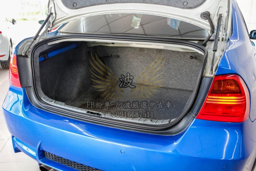 BMW 323I 四出排氣管 鋁圈 客製化改裝