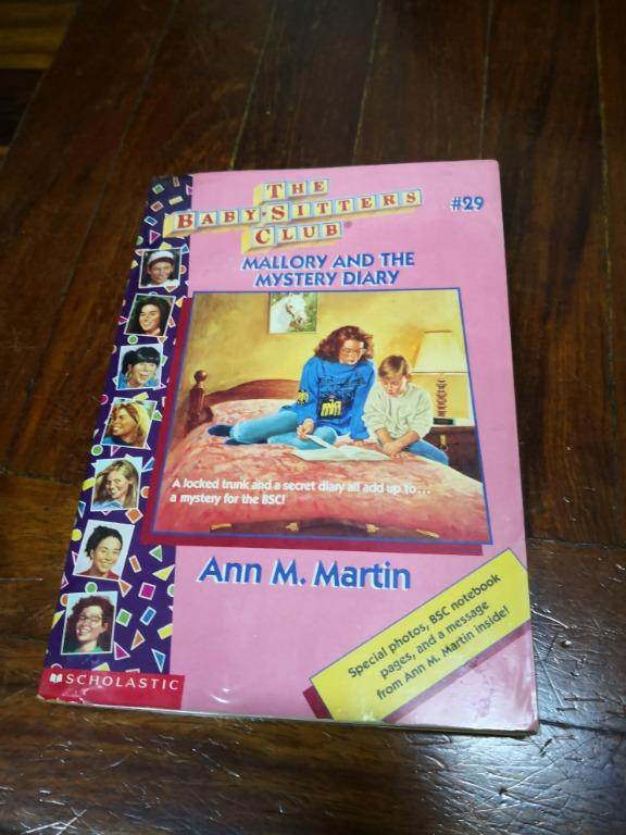 Bundled 5 Preloved Brand New & Used Pocket Books: The Baby-Sitters Club, Friends (BSC) Forever by Ann M. Martin