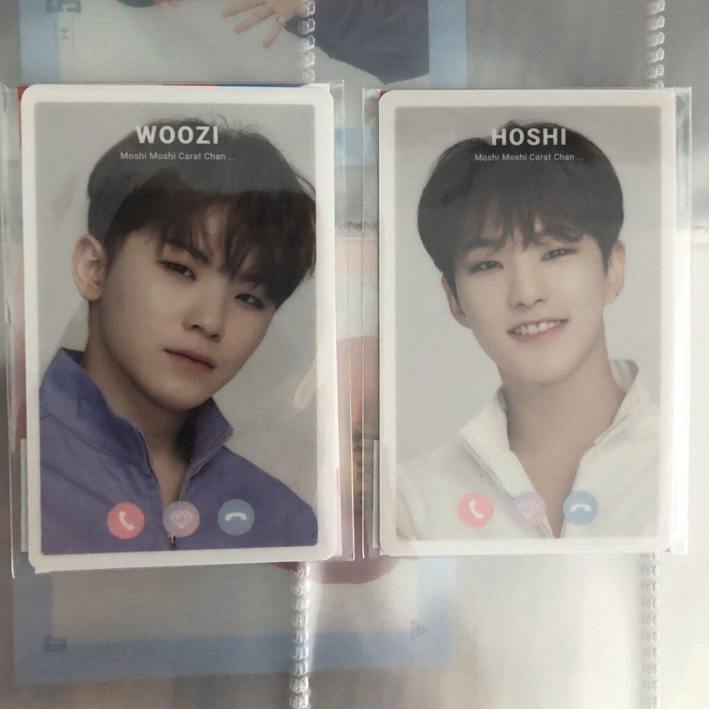 [CLEARANCE] WOOZI & HOSHI Ode to You in JAPAN Moshi Moshi Card