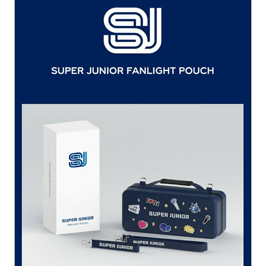 [FREE POSTAGE] Super Junior - OFFICIAL FANLIGHT POUCH