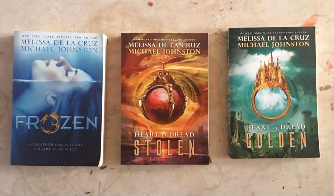 Heart of Dread Complete Series by Melissa de la Cruz and Michael Johnston
