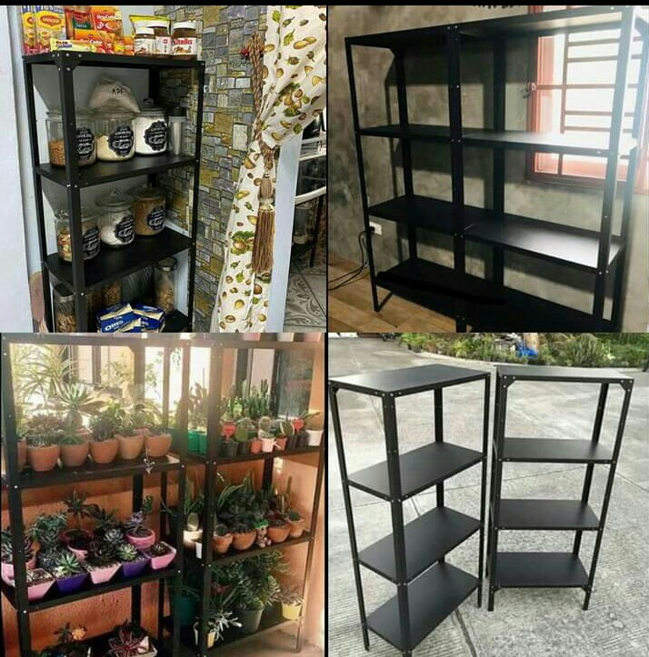 High Quality Metal Storage Rack With Adjustable Layer Home Furniture Furniture Fixtures Shelves Drawers On Carousell