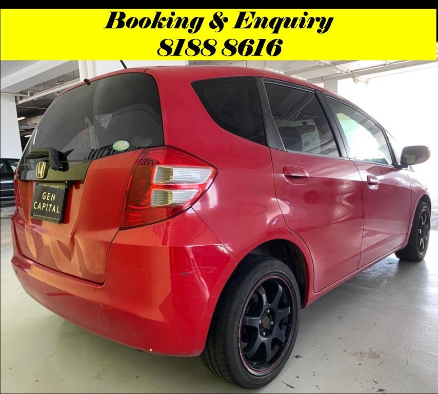 Honda Fit Sunday Special!!! *JUST IN* We have lowered rental rates due to Coronavirus for you to travel with a peace of mind. Fuel efficient & Spacious. Just $500 Deposit driveoff immediately. No hidden cost. Whatsapp 8188 8616 now!