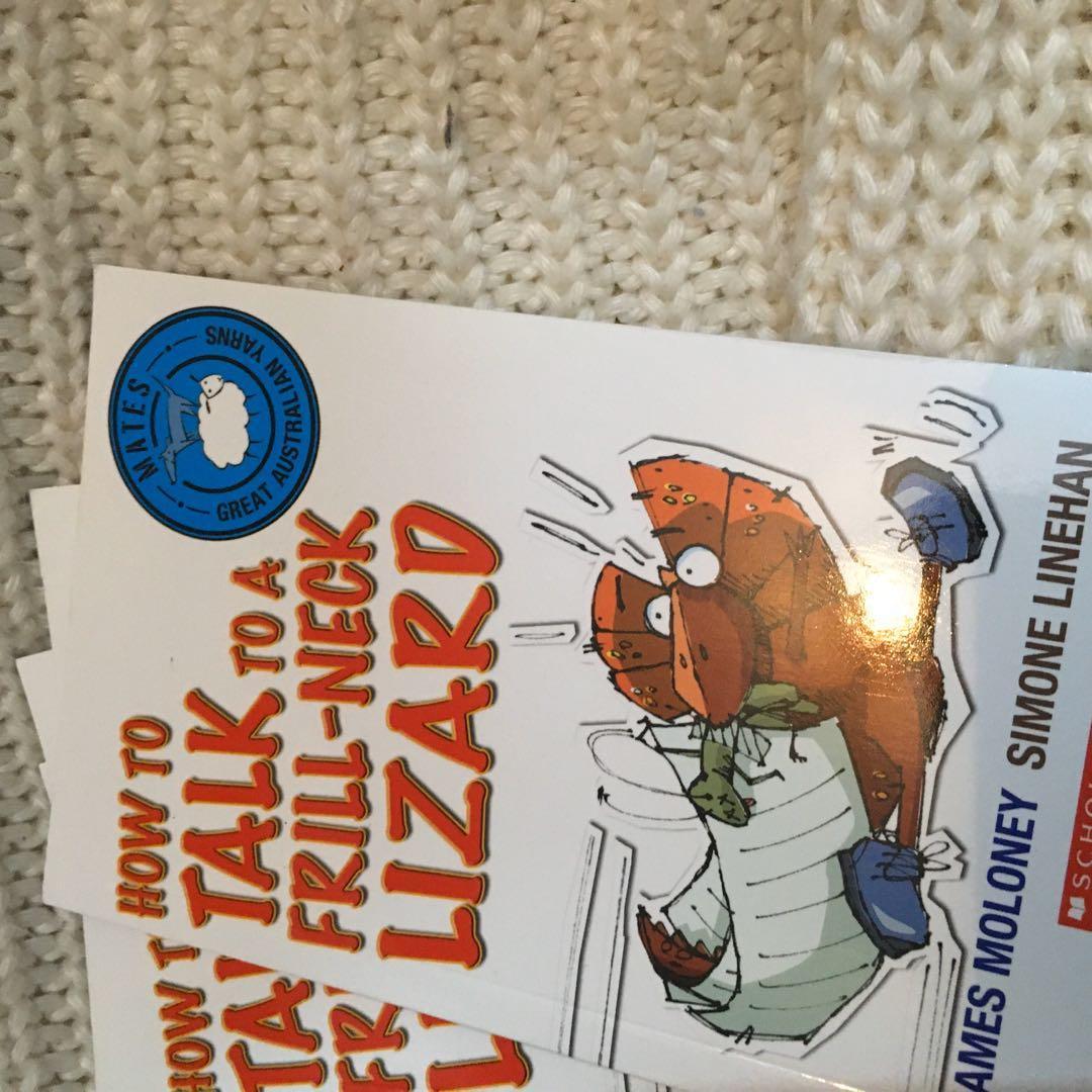How to Talk to a Frill-neck Lizard James Moloney Simone Linehan Childrens Book