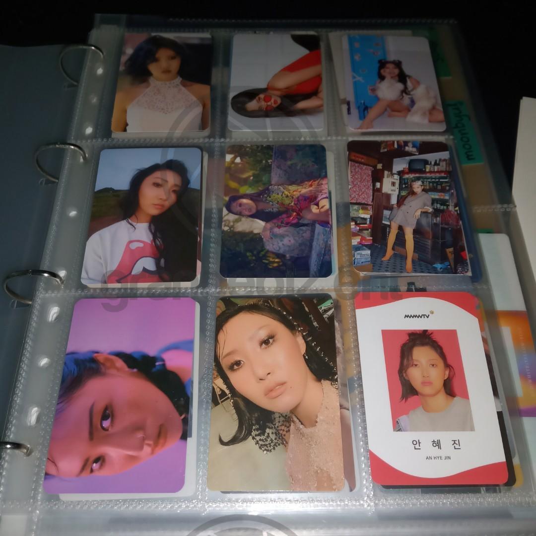 OFFICIAL Mamamoo photocards moonbyul wheein solar hwasa