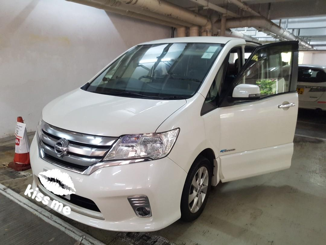 Nissan serena c26 highway star Shybrid serena Auto