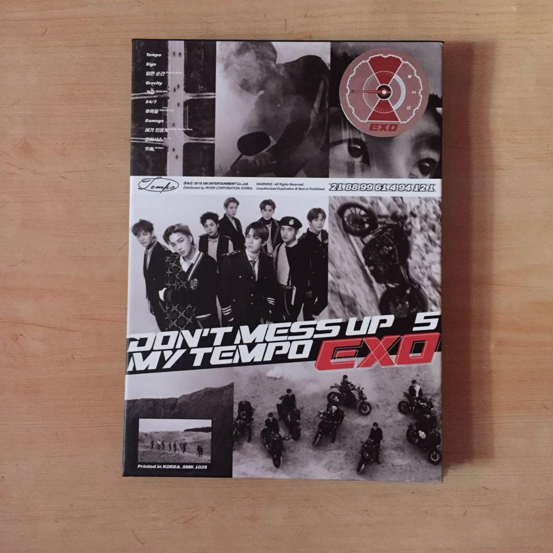 OFFICAL] EXO Don't Mess Up My Tempo ( Allegro ) ( Korean Version )