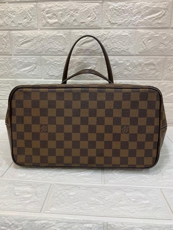 PRELOVED AUTHENTIC LOUIS VUITTON WESTMINSTER DAMIER EBENE BROWN CANVAS SHOULDER BAG 2201081200