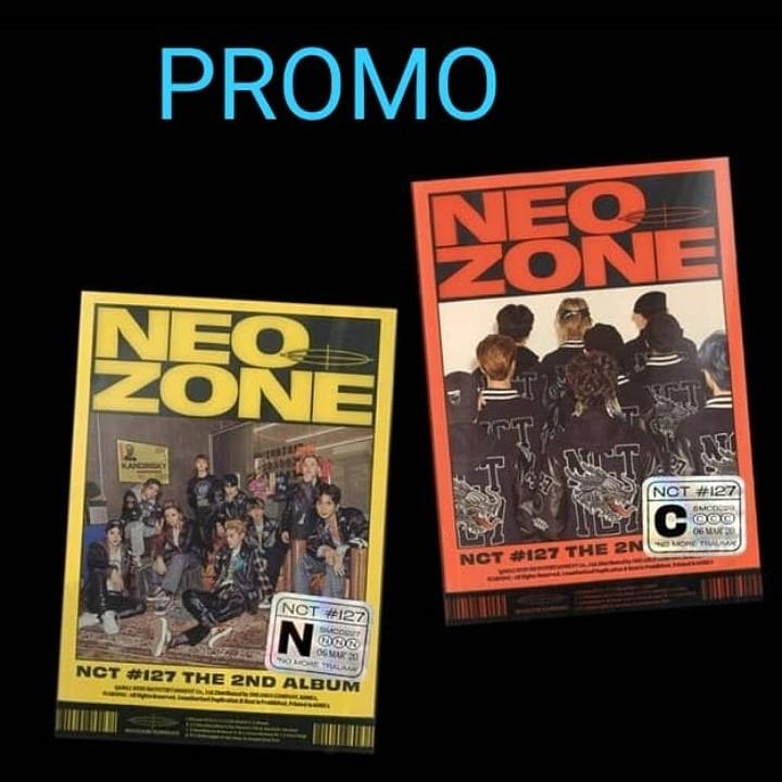 [PREORDER] PROMO until 1 March!!   NCT 127 2nd Album - NCT No127 Neo Zone (FREE POSTAGE)
