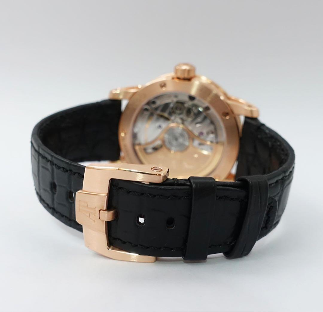 Preowned 7 months old Unworn AUDEMARS PIGUET C.O.D.E 11.59 Solid rosegold Automatic 41mm Leather Watch. Model :15210OR.OO.A002. Swiss made.