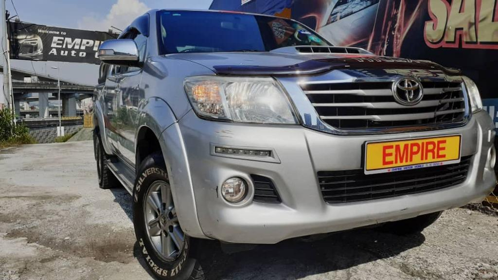 TOYOTA HILUX DOUBLE CAB 2.5G (A) D4D DIESEL TURBO !! TRD SPORTIVO VNT PICK UP TRUCK !! AWD !! NEW FACELIFT !! PREMIUM FULL HIGH SPECS !! ( WX 7609 X ) 1 CAREFUL OWNER !!
