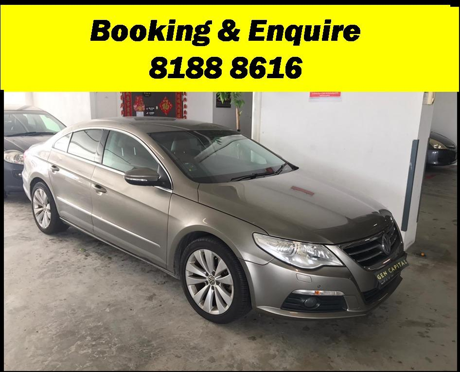 Volkswagen Passat Sunday Special!!! *JUST IN* We have lowered rental rates due to Coronavirus for you to travel with a peace of mind. Fuel efficient & Spacious. Just $500 Deposit driveoff immediately. No hidden cost. Whatsapp 8188 8616 now!