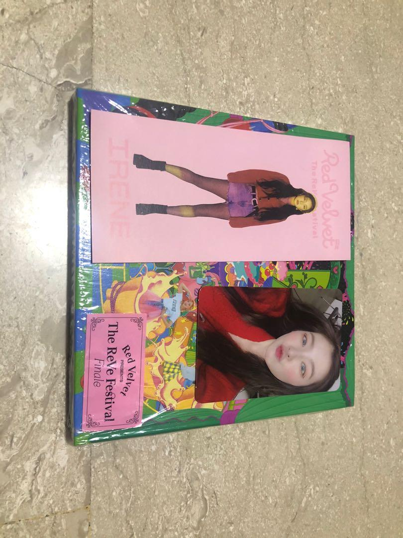 [WTT] Red Velvet Irene The ReVe Festival Finale Psycho scrapbook Photocard / PC