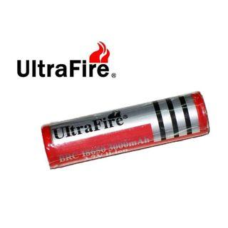 {MPower} UltraFire 18650 3000mAh 3.7V Protected Battery 有保護 保護板 鋰電池 - 原裝行貨