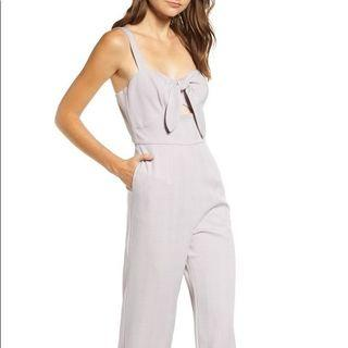 WAYF Jumpsuit in Lilac