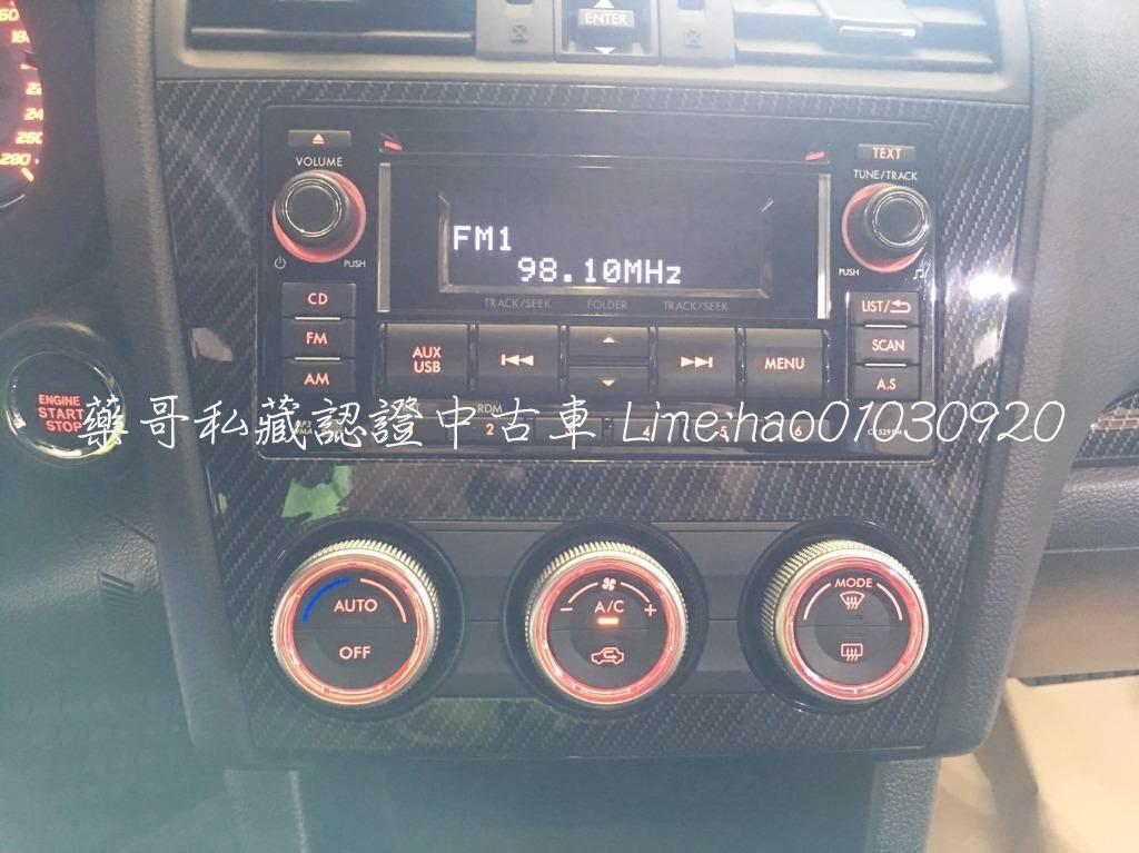 14年式 SUBARU WRX 2.0 白色 低調速度不減