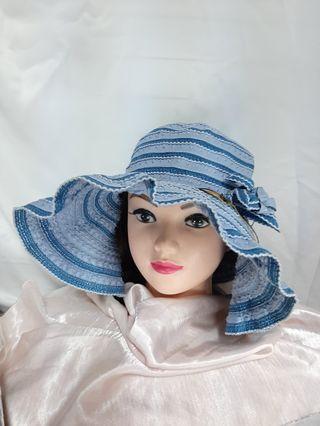 秋夏防曬編織帽    現貨