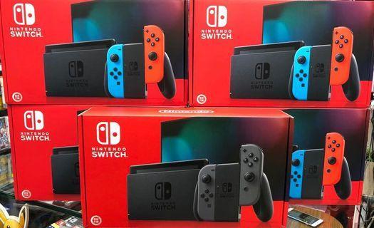 Switch各款主機由13xx起!遊戲及配件都以優惠價發售!遊戲多又好玩更方便多人一起玩!