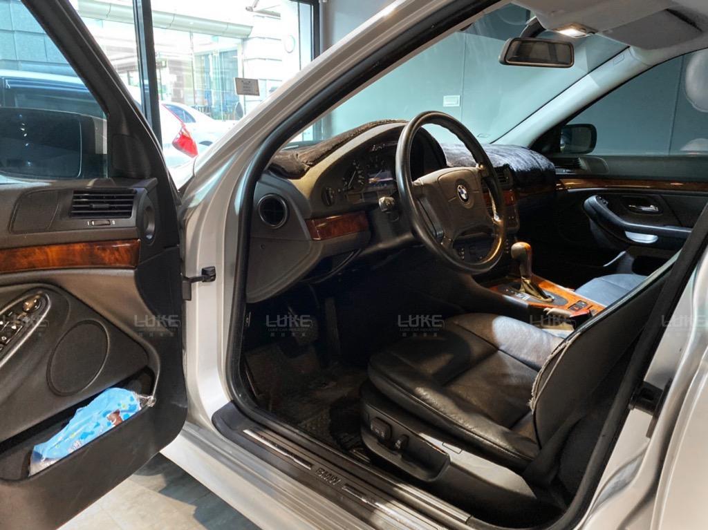 🎉1998出廠 經典E39 BMW 523i 汎德總代理 里程10萬公里 經典上架