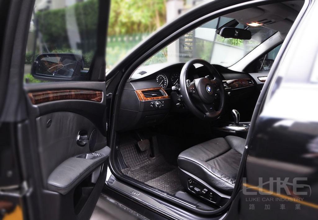 🎉2007年總代理出廠08年式BMW550i  猛獸出閘扮豬吃老虎首選
