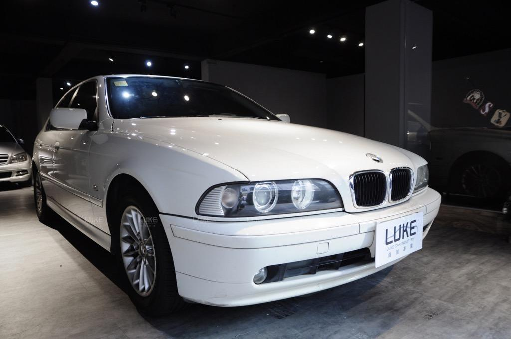 🎉全原廠保養紀錄 醫師用車 2001出廠 E39 BMW 525i 小改款 總代理