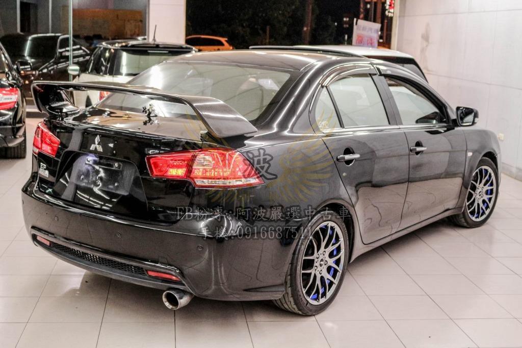 三菱 FORTIS 車美優質 天窗 改排氣管 鋁圈 倒車螢幕 尾翼 客製化改裝