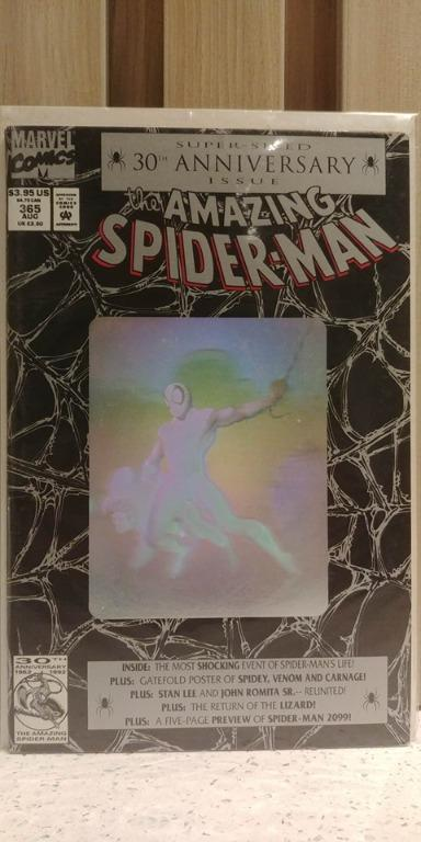 Amazing Spider-Man (1963 1st Series) # 365 5-page preview of Spider-Man 2099