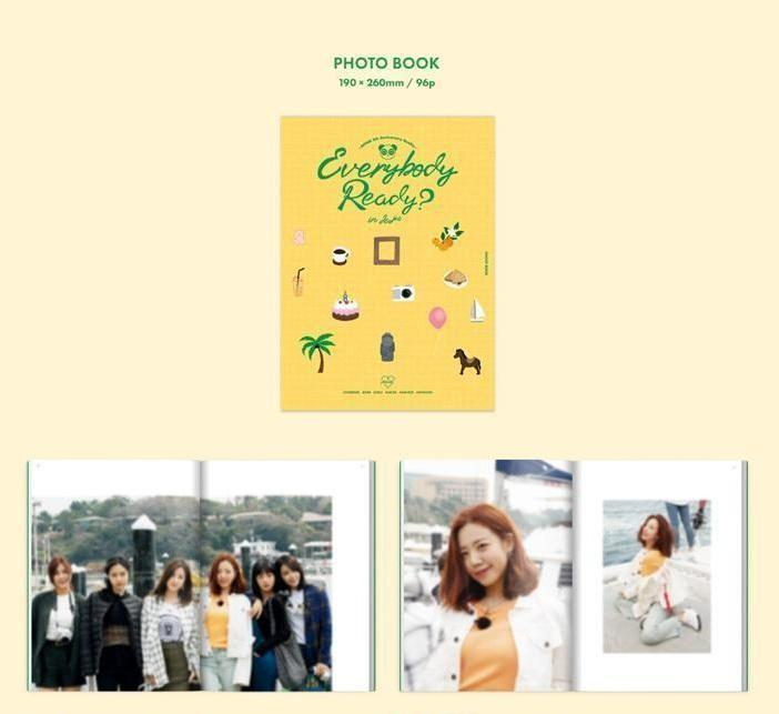 Apink - Everybody ready in jeju (photo dairy package)