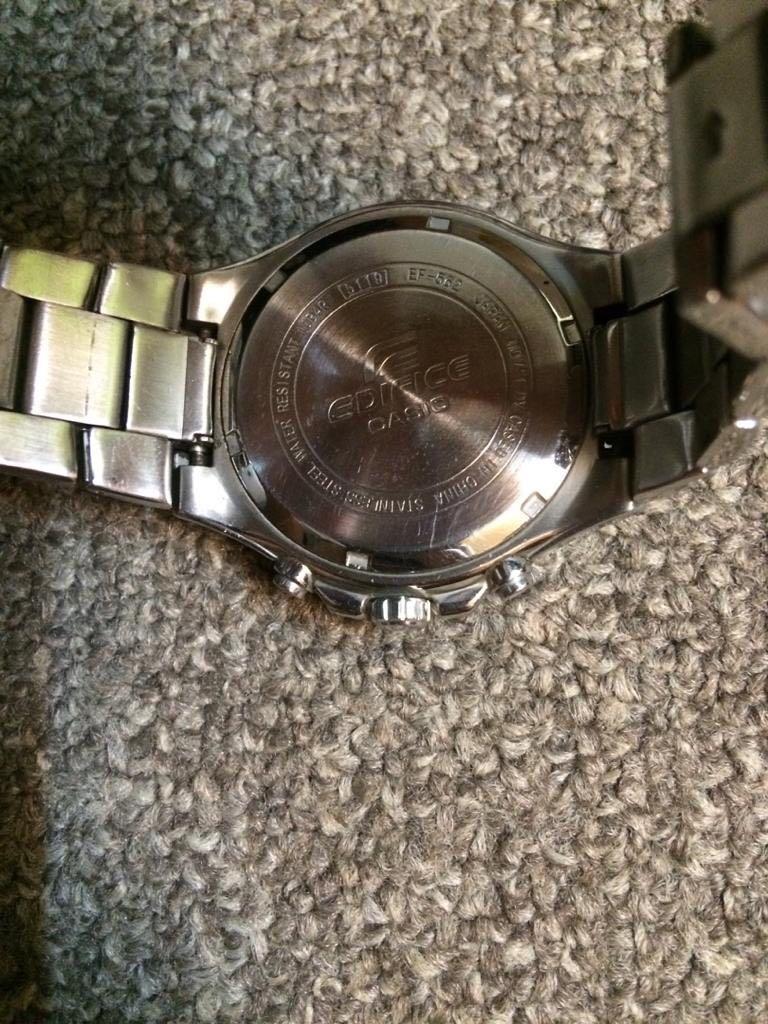Authentic Original CASIO EDIFICE Watch Jam Tangan not ikea swatch fossil gshock