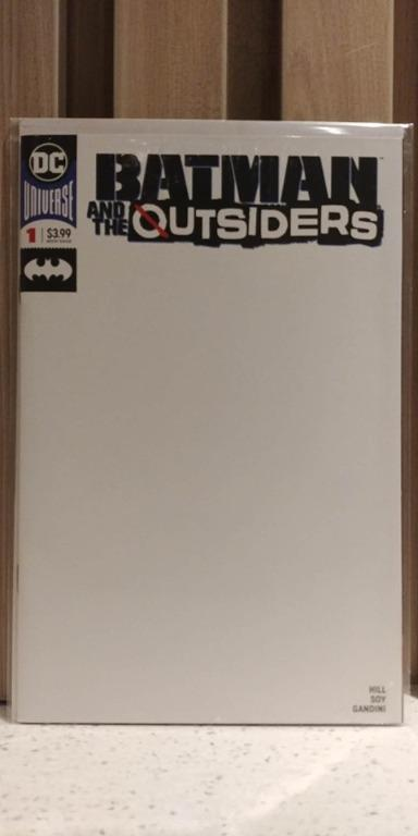 Batman and the Outsiders (2018 3rd Series) # 1C 1st appearance of Sofia Ramos, a meta-human