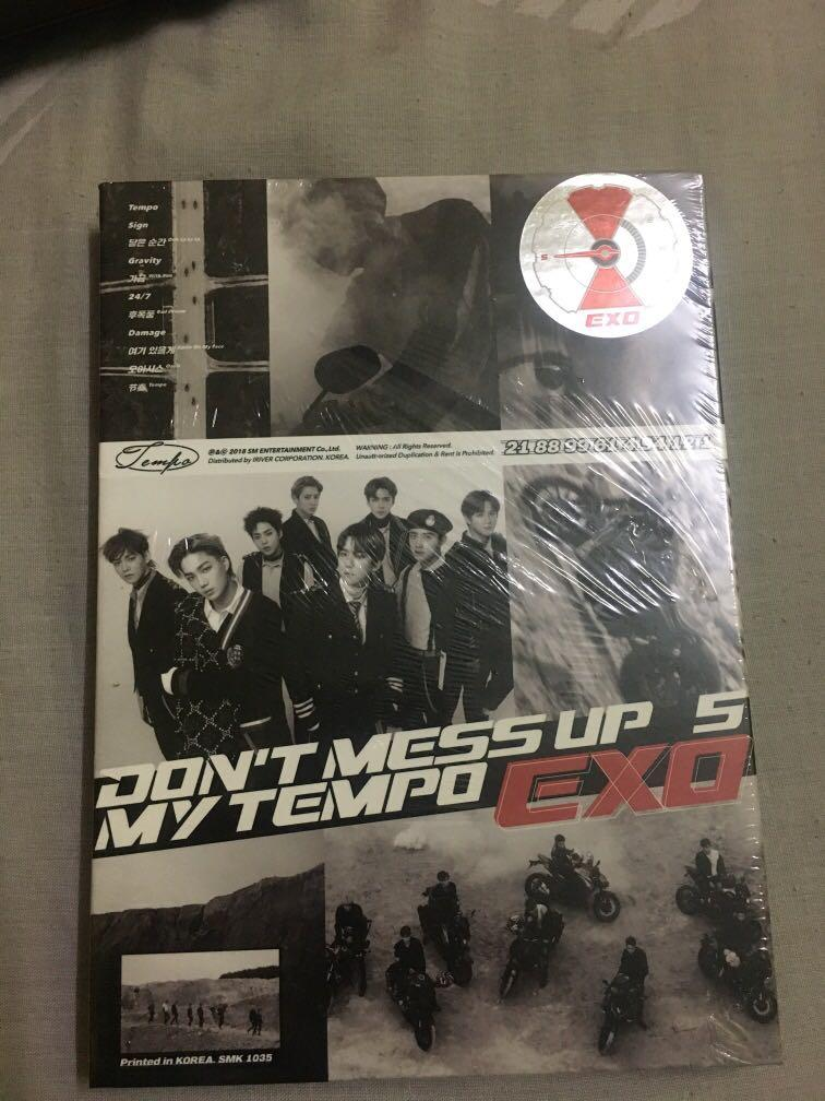 EXO TEMPO DONT MESS UP MY TEMPO (DMUMT) AlBUM (SEALED)