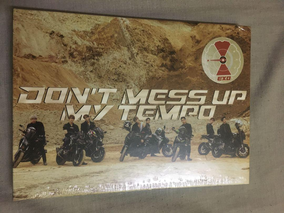 EXO TEMPO DONT MESS UP MY TEMPO (DMUMT) SEALED ALBUM